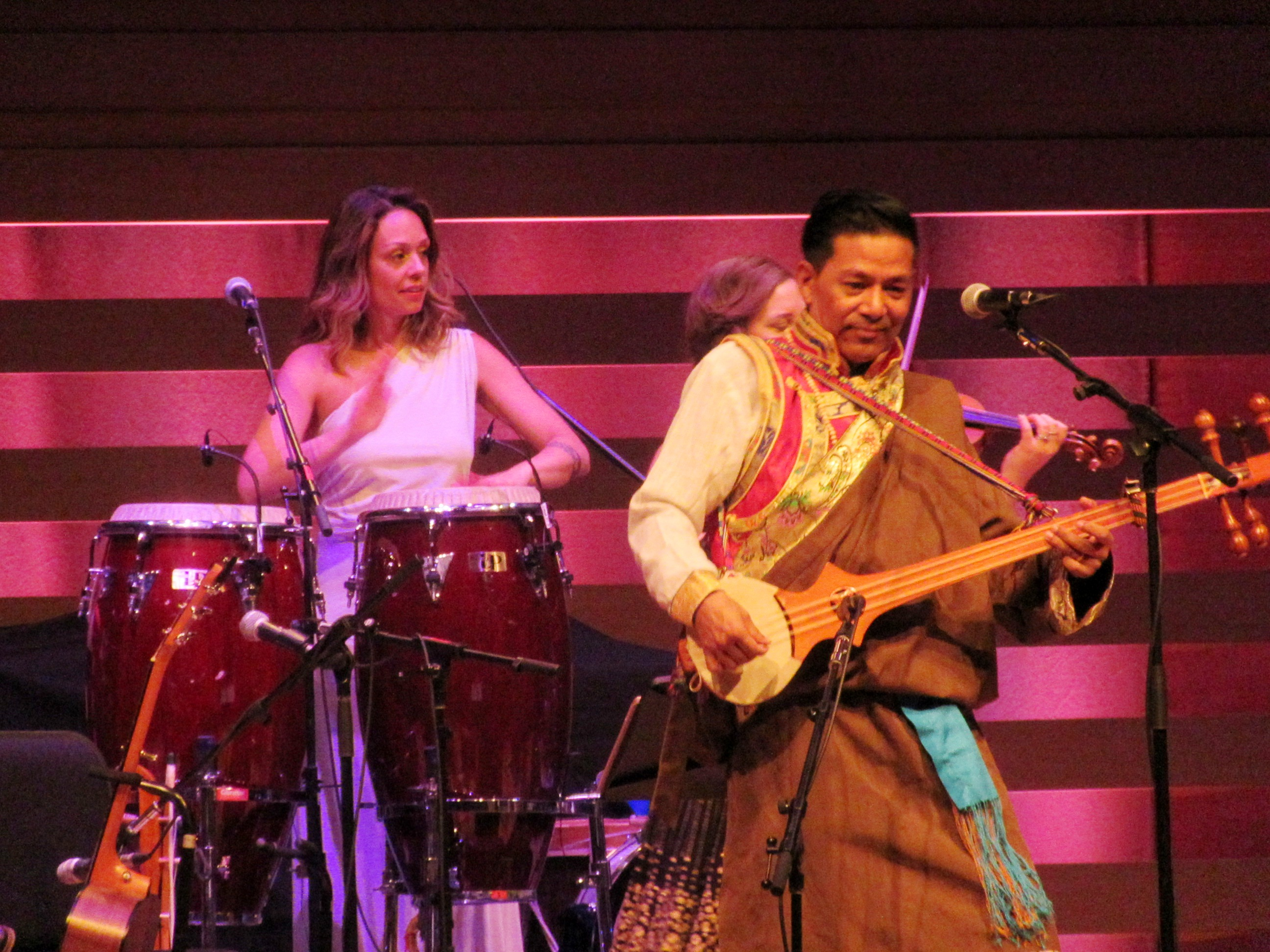 KUNE Aline Morales with Dorjee Tsering