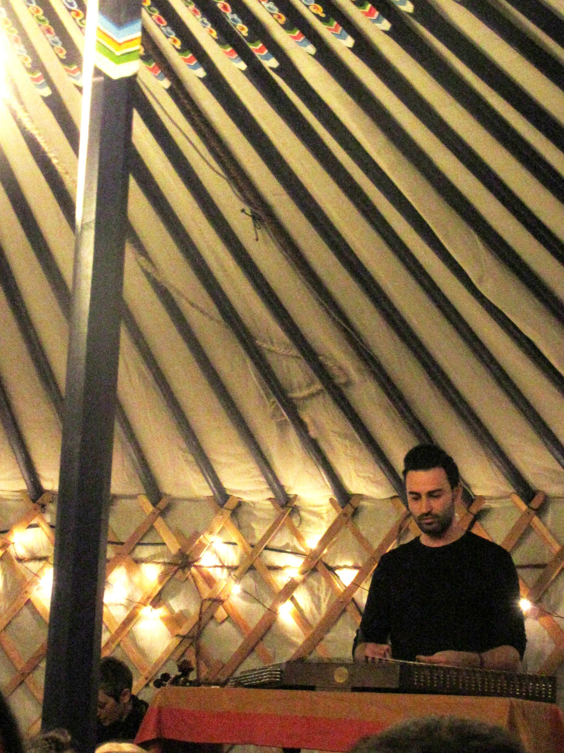 Sina Bathaie in Yurt