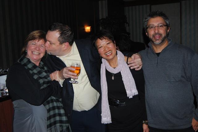 Shelagh, Andy, Judy, Rick