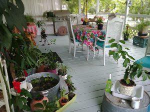 Photo of Linda's porch