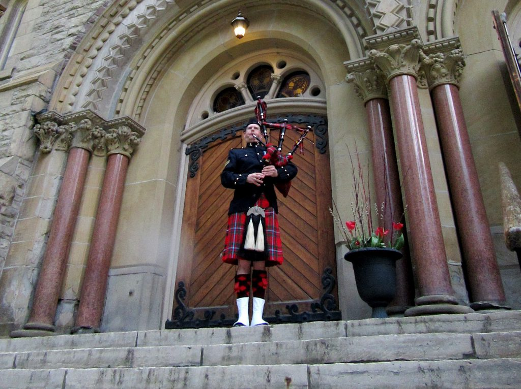 photo of a piper